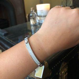 MICHAEL KORS- Astor crystal pave bracelet